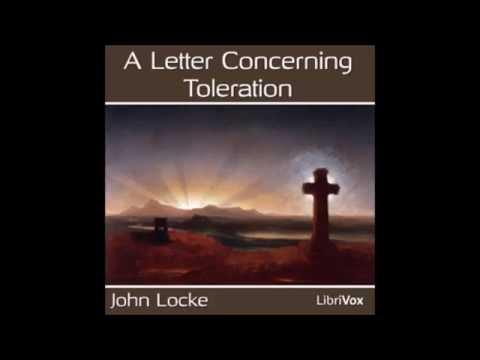 John Locke First Letter on Toleration 1689