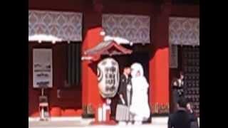 Япония Свадьба в храмовом комплексе Kanda Myojin в Токио