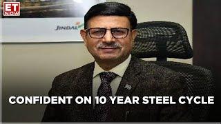 ET NOW Exclusive | Assessing Steel Demand Trends | VR Sharma, JSPL