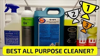 What is the BEST All Purpose Cleaner? (APC) Product Best Of Test