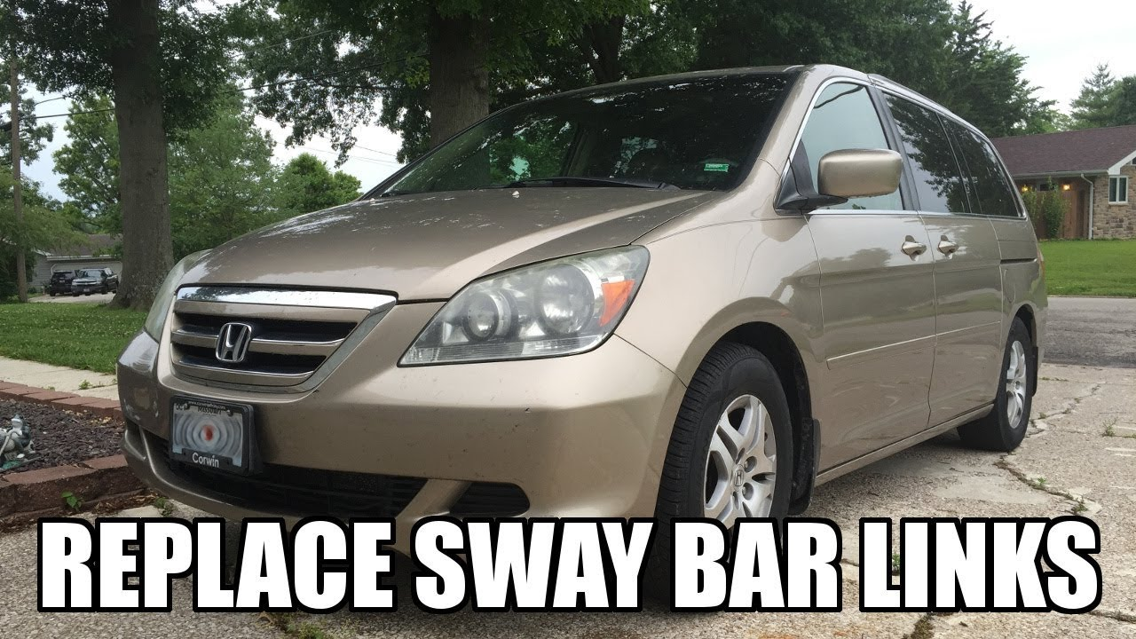 2005 Odyssey Sway Bar Link Replacement Youtube