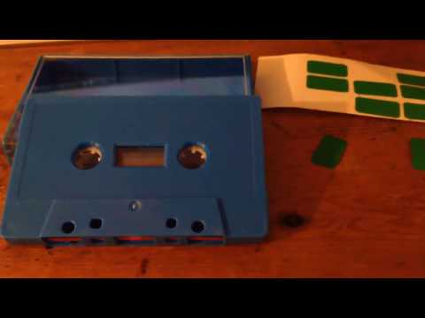 How To Record Over 'Protected' Cassette Tapes - DIY HOME RECORDING