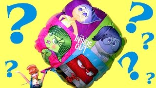 giant inside out balloon surprise toys eggs exclusive olaf vinylmation  monster high  peppa pig