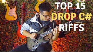 Top 15 Drop C# Guitar Riffs