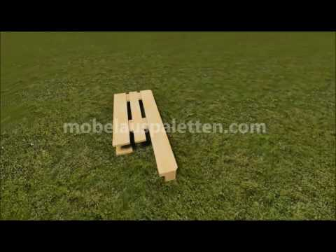 Anleitung Wie Man Einen Stuhl Mit Paletten Machen Youtube