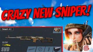 NEW BEST SNIPER!! (SVD) Rules Of Survival Gameplay + Epic Moments! (Mobile Fortnite/PUBG)