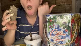 MUKBANG ASMR EATING Очень вкусное видео ❤️ Соленая уйгурская
