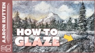 Grayscale to Color - How to GLAZE a Painting Digitally
