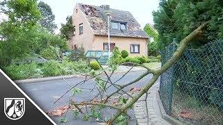 Tornado im Kreis Viersen verursacht starke Schäden