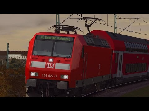 LET`S PLAY TOGETHER Train Simulator 2015[60FPS] / Mit Rob und BR 146.0 nach Bonn-Mehlem