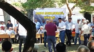 Встреча чеченцов из ведено в с куппа