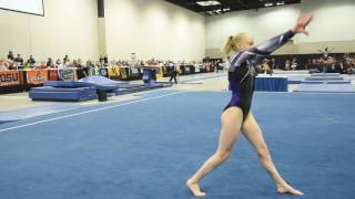 Carly Bauman - Floor Exercise - 2017 Women's Junior Olympic Championships