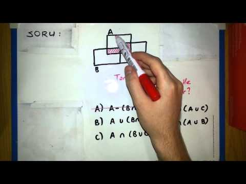Kümeler Soru Çözümleri - 11