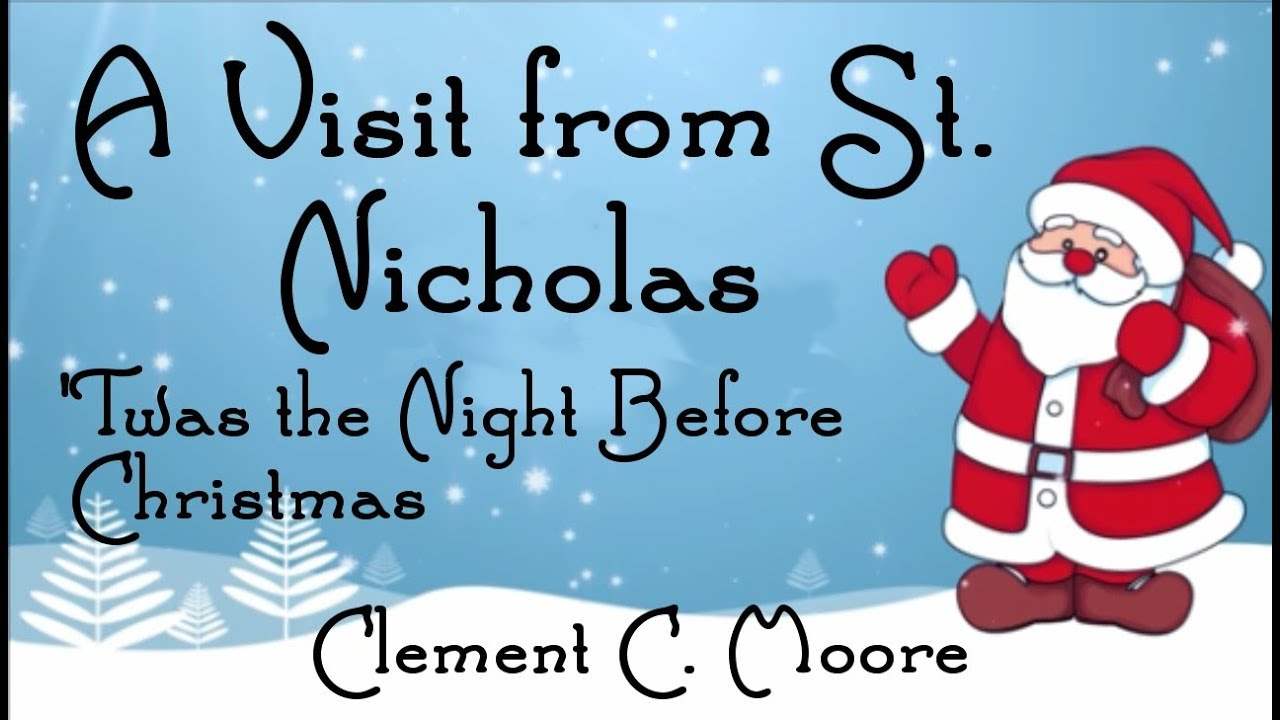 a visit from st nicholas clement moore