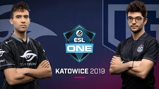 Dota 2 - Team Secret vs. Team OG - Game 1 - Group A R1 - ESL One Katowice 2019
