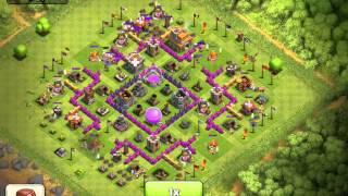 Clash of clans- How not to attack with Barbarians
