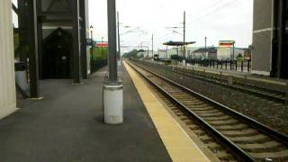Acela Express 150 mph through Kingston Station R.I