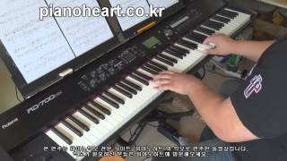 t Yoonmirae(t 윤미래) - Touch love (터치 러브) Master`s sun(주군의 태양) OST piano cover