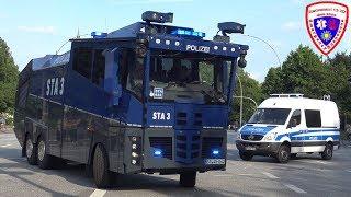 G20 Gipfel 🚨 Befkw + 3 WaWe 10000 + HGGkw Bundespolizei Sankt Augustin
