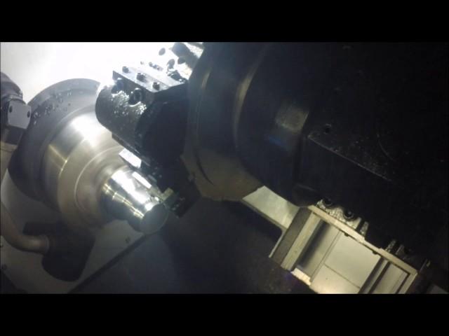 Samsung SL2500 Cutting Demo by Northeast Precision Machinery