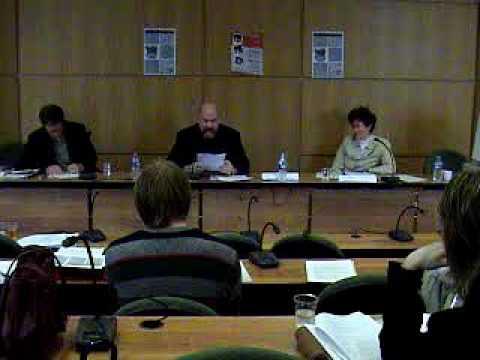 IALJS-1, May 2006, Nancy, France - Bill Reynolds, David Abrahamson, and Susan Greenberg