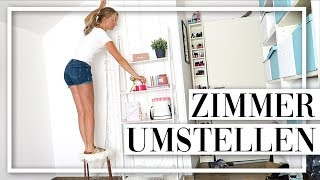 BÜRO & SCHLAFZIMMER UMSTELLEN! Neue Schminkecke - TheBeauty2go