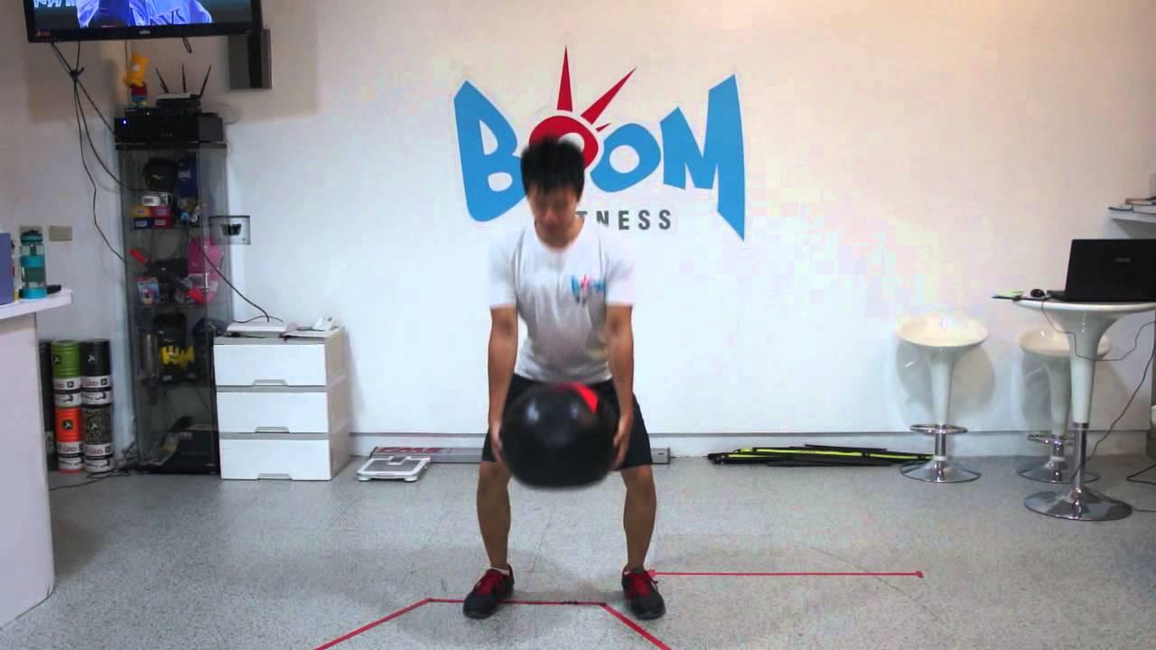 用蹲舉 & 硬舉姿勢從地上拿取重物 - YouTube