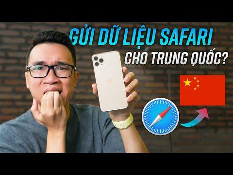 Apple Gửi Dữ Liệu Safari Về Trung Quốc?