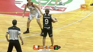 Liga Femenina 12/13. Jornada 14. Spar UniGirona - Rivas Ecópolis
