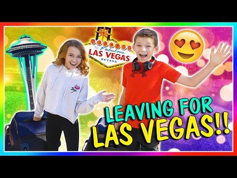 WE ARE TAKING THE KIDS TO VEGAS! | We Are The Davises