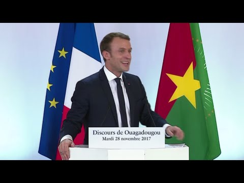 "Emmanuel Macron to Burkina Faso students: ""You speak to me as if France was still a colonial power"""
