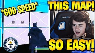 *FIRST TIME* SEN BUGHA Shows Maximum Editing Speed & Fastest in Fortnite Raider Edit Course!