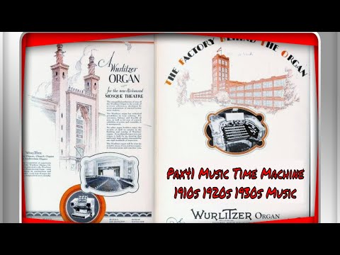 Popular 1920s Music Performed on Theatre Organ  @Pax41