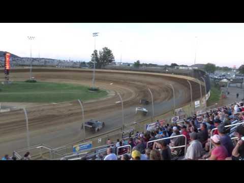 Lawrenceburg Speedway   7/1/17   Merrill Downey Memorial   Late Models   Heat 1