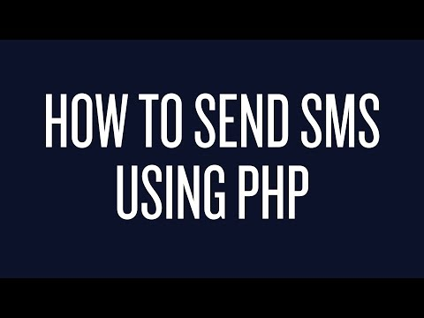 How to Send Text Messages Using PHP - YouTube