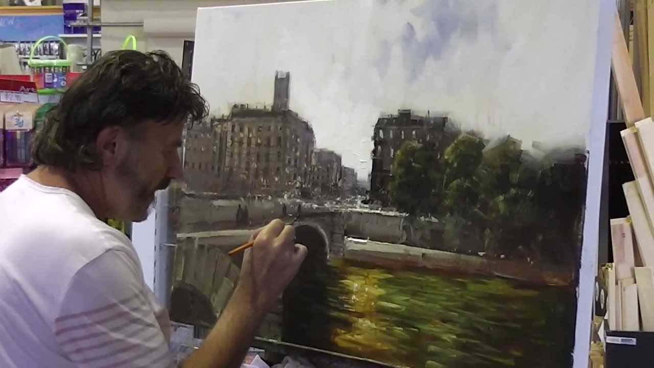 Paris Scene By Herman Pekel Youtube
