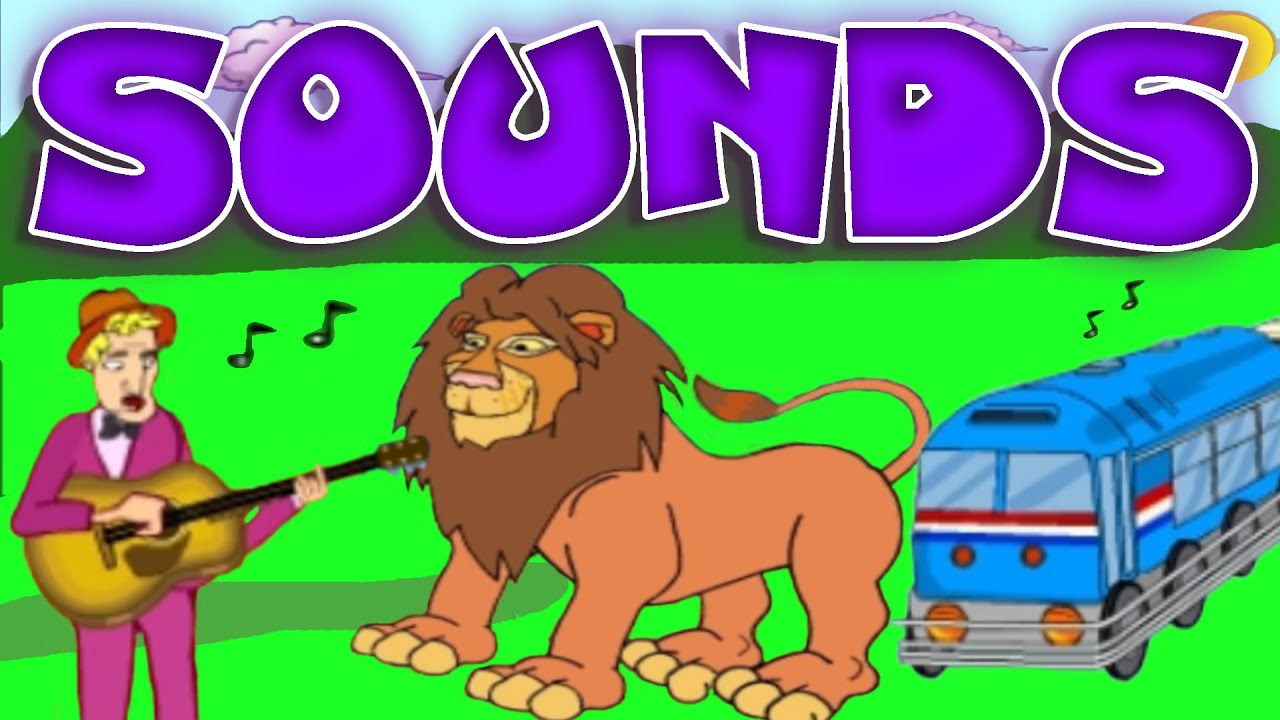 Learn All About Sounds Animals Musical Instruments Noise Machines