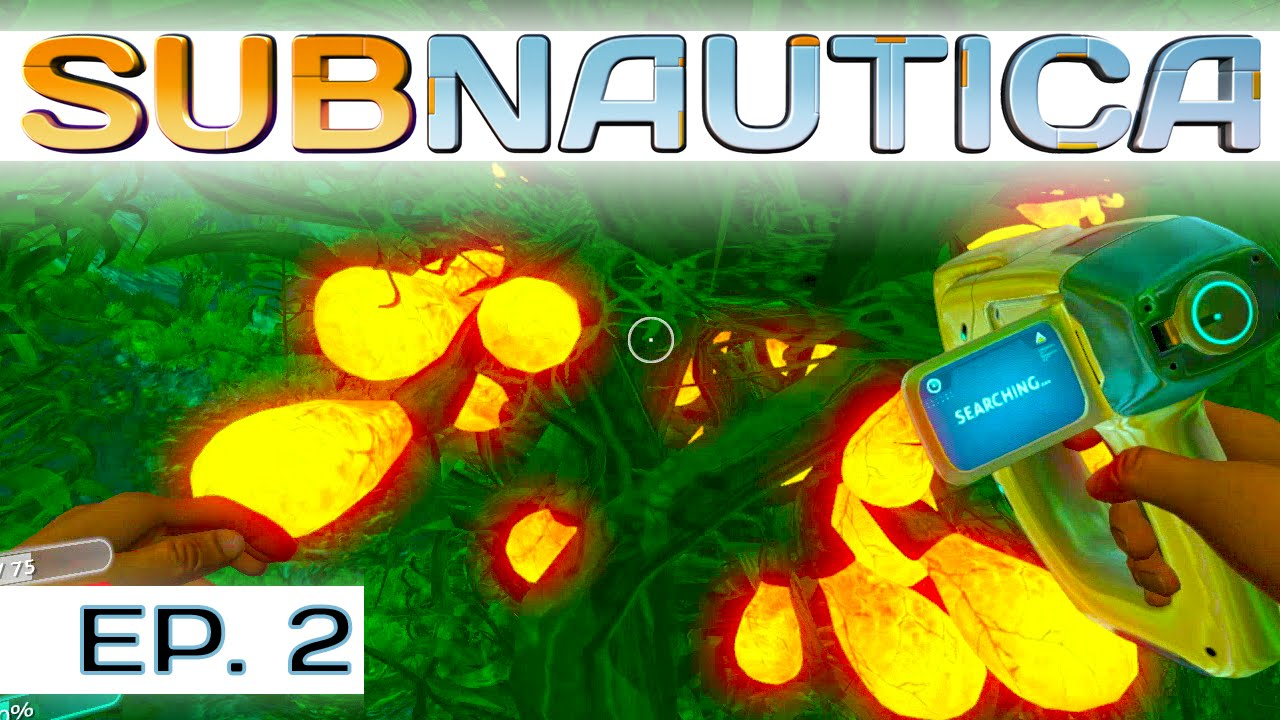 Creepvine And Silicone Rubber Subnautica Ep 2 Let S
