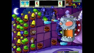 Repeat youtube video Plants vs. Zombies - Final Boss Battle Gameplay and Music Video