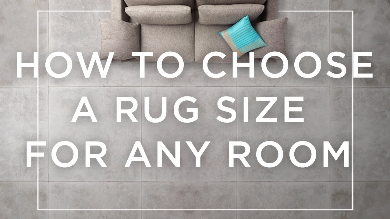 How To Choose A Rug Size For Any Room
