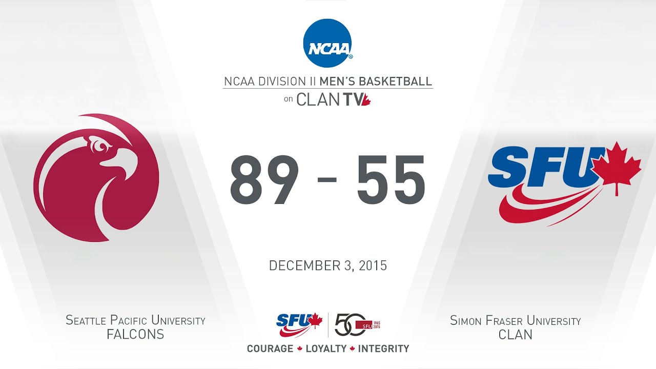 SFU Clan Men's Basketball: SFU vs. SPU - December 3, 2015 ...
