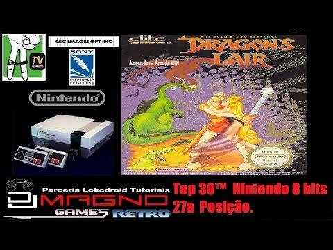 Dragons Lair Csg Imagesoft© 1990 Nintendo 8 Bits Top 30™