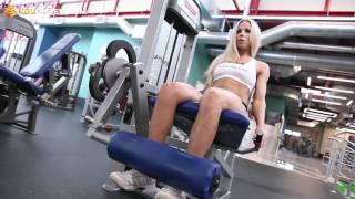 Фитнес-бикини. Тренировка ног и ягодиц.