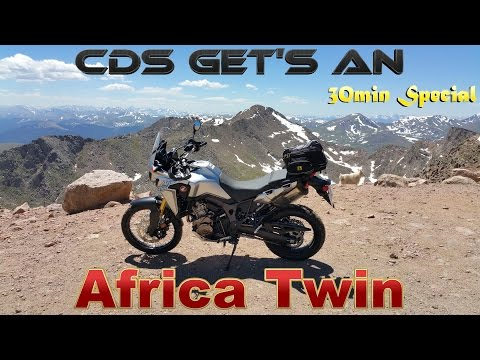 CDS Gets An Africa Twin CRF1000L