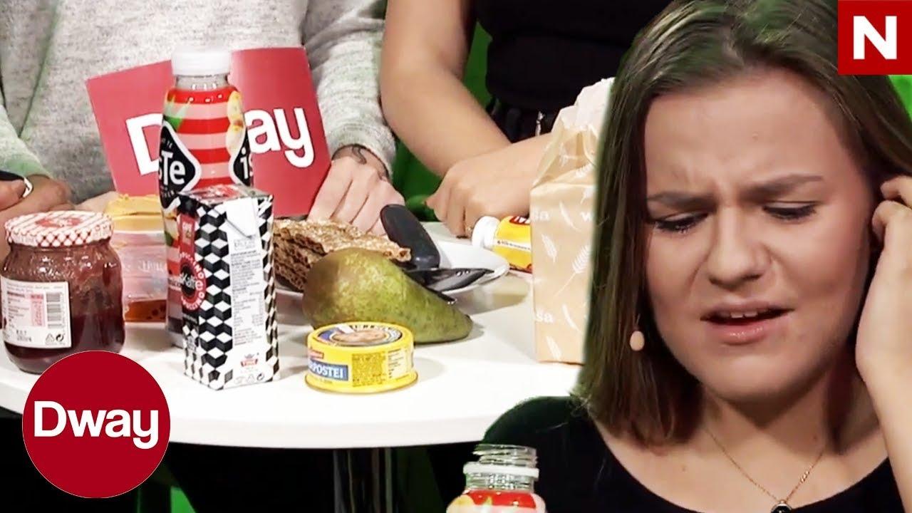 #Dway   Kristine Bremnes prøver mat hun ALDRI har smakt før   TVNorge