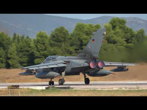 Athens Flying Week Monday Departures - 30 minutes of continuous action 4K