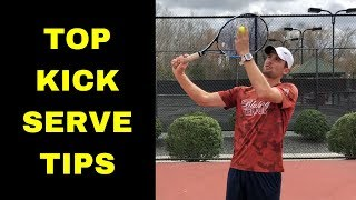 BEST KICK SERVE TIPS! Try them to master your Tospin Serve!