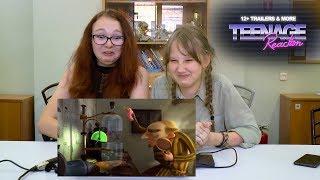 Teenage Reaction - Эля и Саша смотрят трейлеры: ГОДЗИЛЛА 2, ПОХИТИТЕЛИ НОСКОВ, СЛЕДУЮЩЕЕ ПОКОЛЕНИЕ