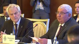 CSTO FM's Council Plenary Session | Пленарное заседание СМИД ОДКБ