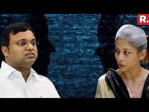 Karti Chidambaram Brought Face To Face With Indrani Mukherjee | INX Media Case